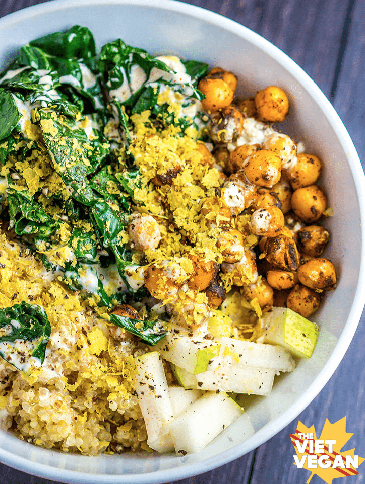Vegan Chickpea Recipes - Quinoa Bowl