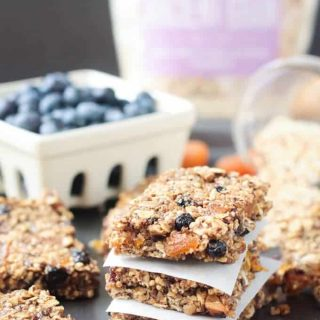 Ancient Grains Breakfast Bars (Vegan, Gluten Free)