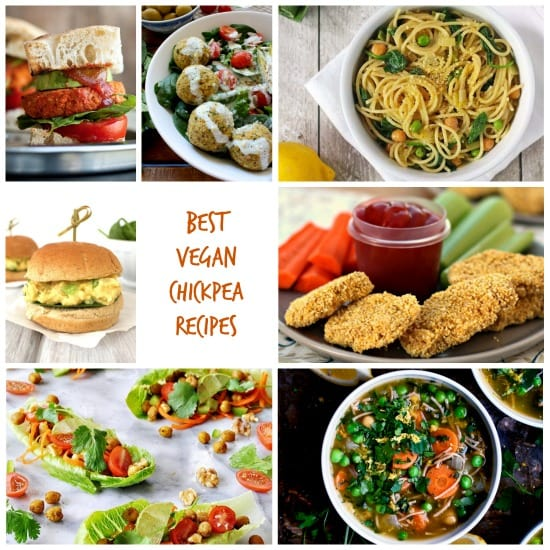 The BEST Vegan Chickpea Recipes That Aren't Hummus! Chickpeas, also called garbanzo beans, are nutritious, inexpensive, and versatile. Check out all the ways you can use this humble bean in these 41 delicious easy recipes!
