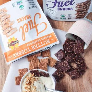 Maple Walnut Vegan Cream Cheese & Foodie Fuel Snacks Review