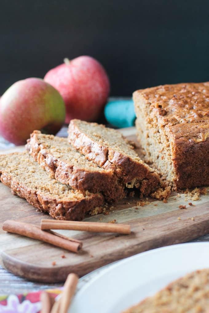 Apple Cinnamon Bread Dairy Free Oil Free Veggie Inspired