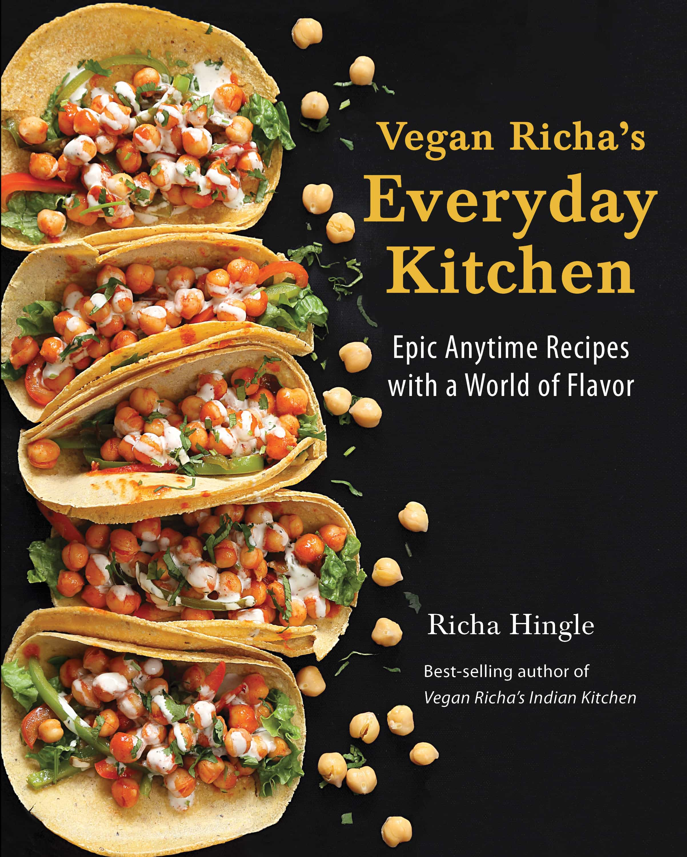 Vegan Richa's Everyday Kitchen cookbook cover