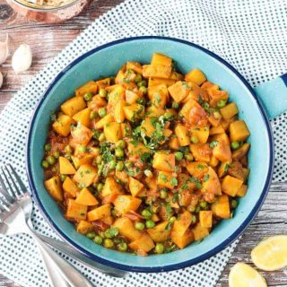 Bombay Potatoes and Peas from Vegan Richa's Everyday Kitchen