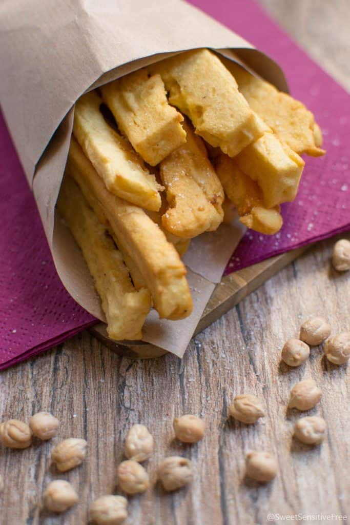 Vegan Appetizers: Chickpea Sticks