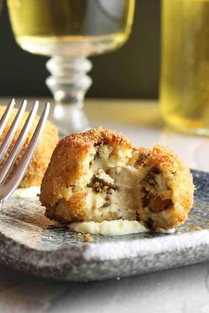 Vegan Appetizers: Vegan Chorizo Croquettes