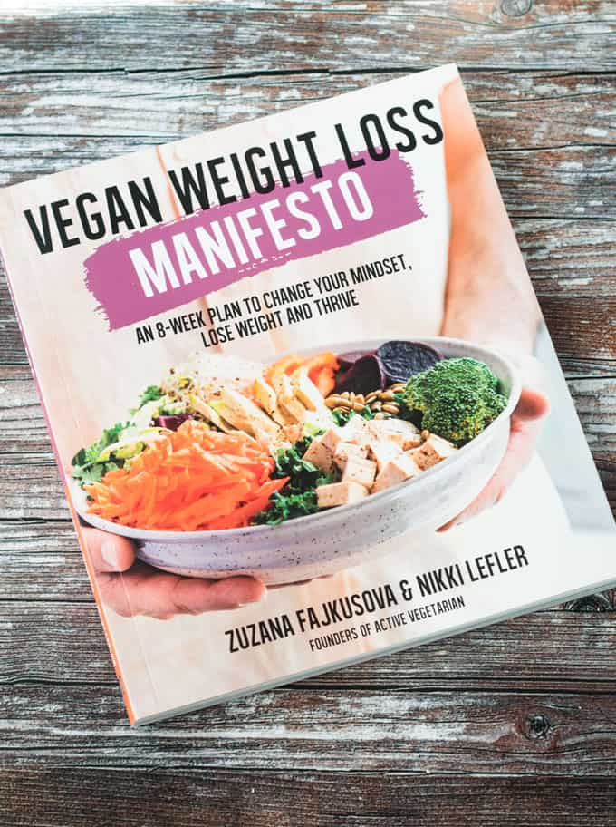 Vegan Weight Loss Manifesto Book Cover