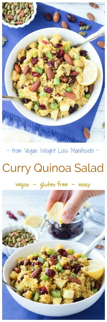 Quick And Easy Curry Quinoa Salad Recipe Perfect For A Light Lunch Or Dinner Packs