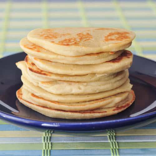 Vegan Pancakes: Sweet Cream Protein Pancakes
