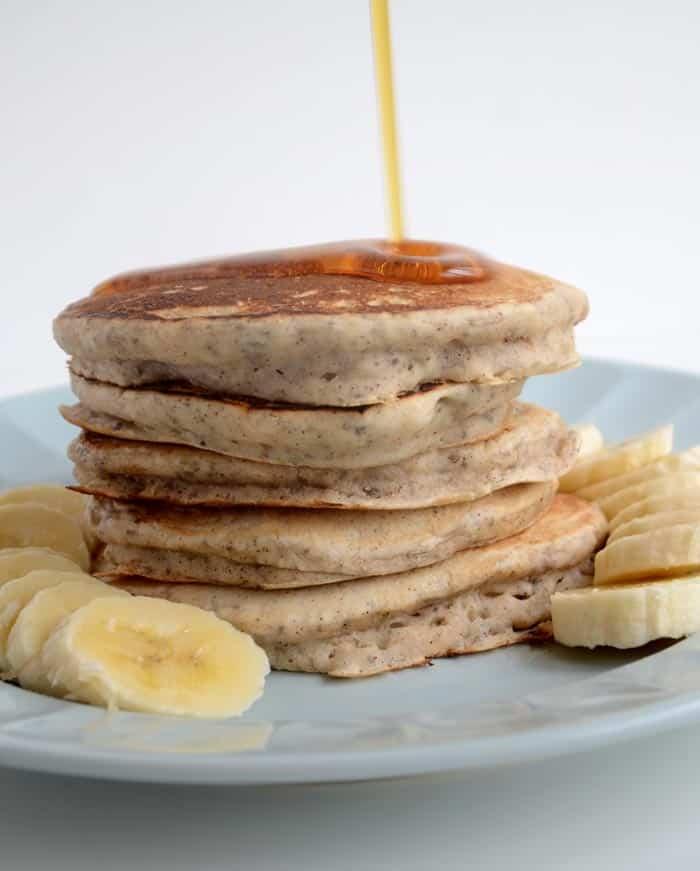 Vegan Pancakes: Vegan Chia Seed Pancakes