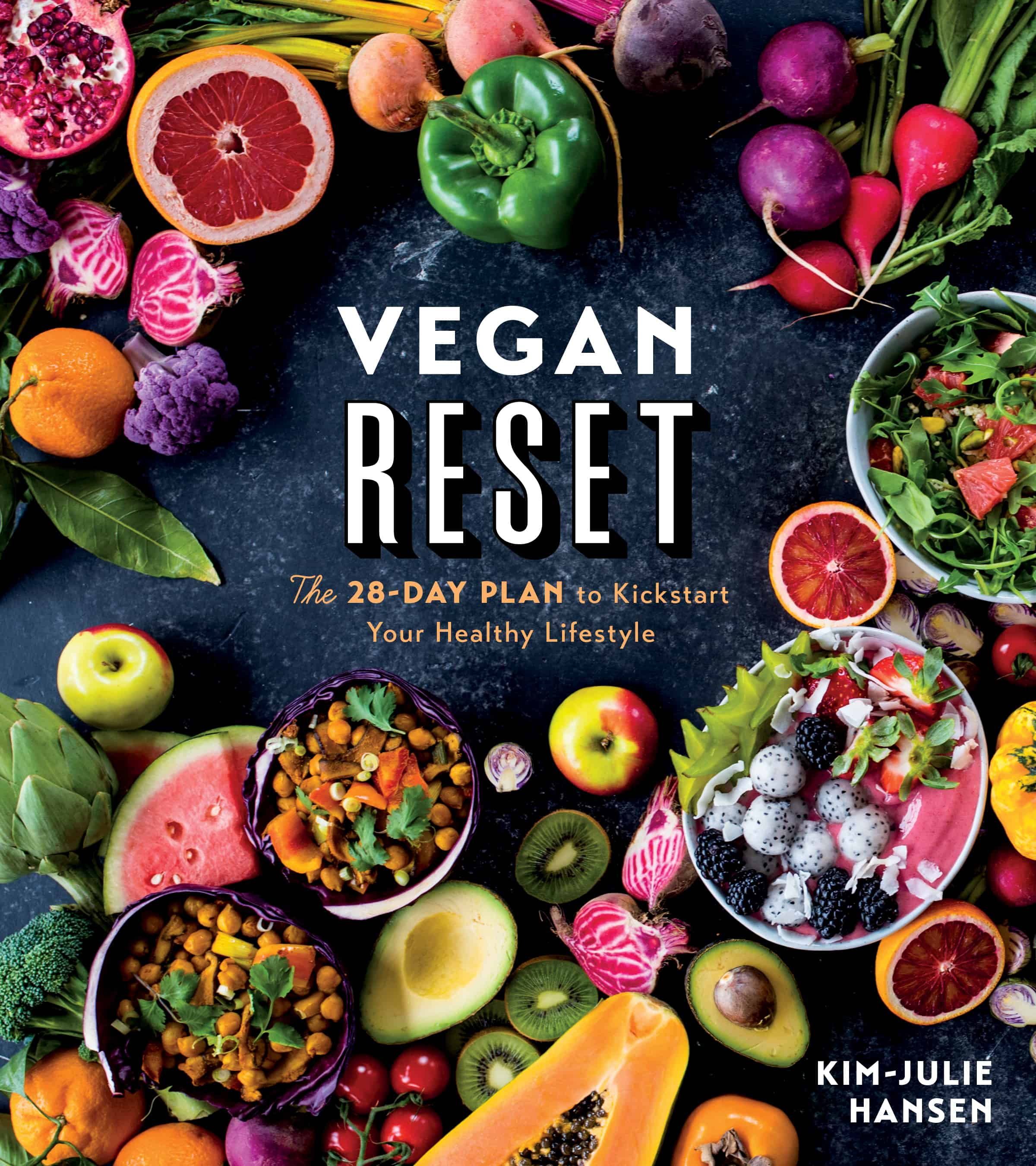 Vegan Reset Cookbook cover