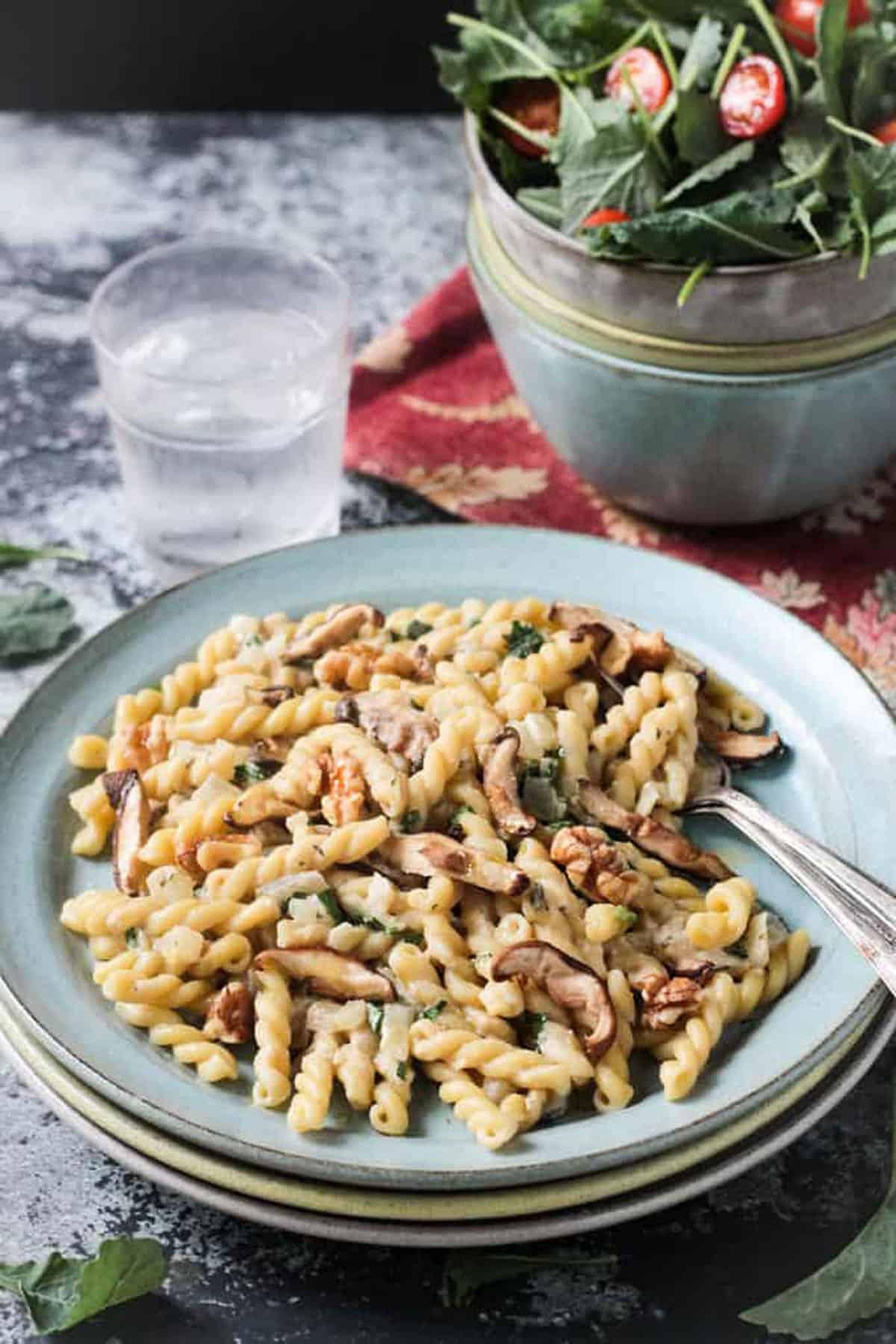 Creamy Vegan Mushroom Pasta Veggie Inspired