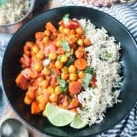 Spiced Chickpea Stew (Gluten Free)