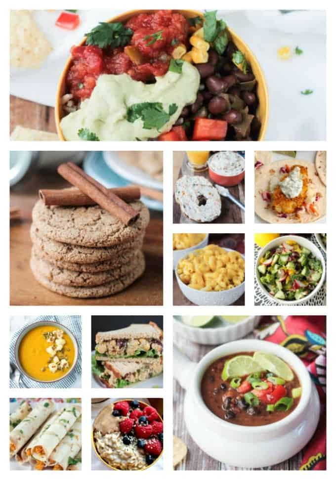 Collage of 11 photos of the Best Tasty Vegan Recipes