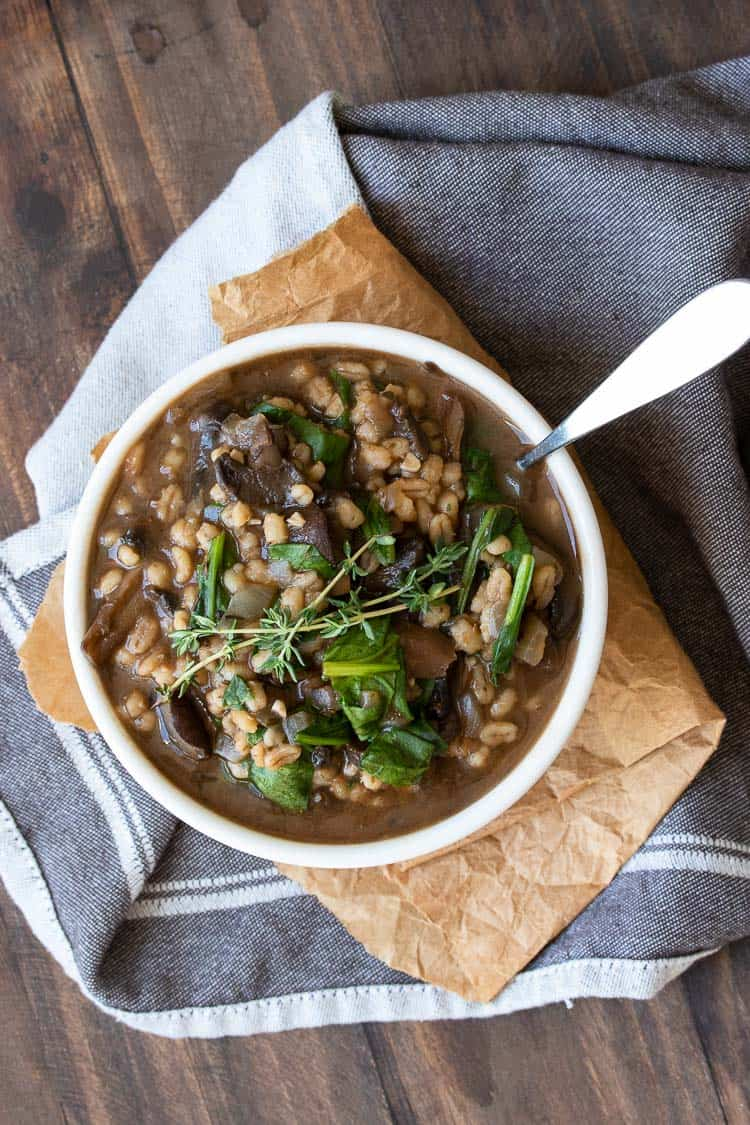Vegan Soup Recipes - Mushroom Stew