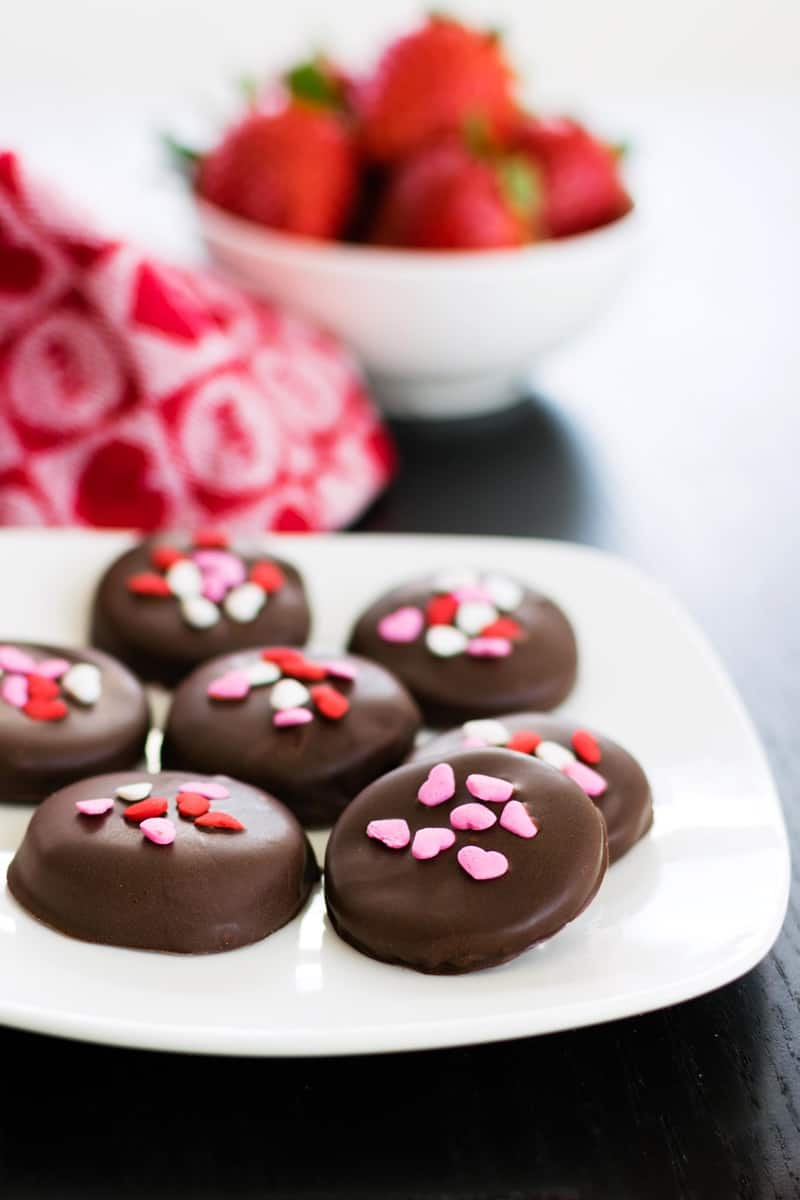 Vegan Chocolate Recipes: Chocolate Strawberry Patties