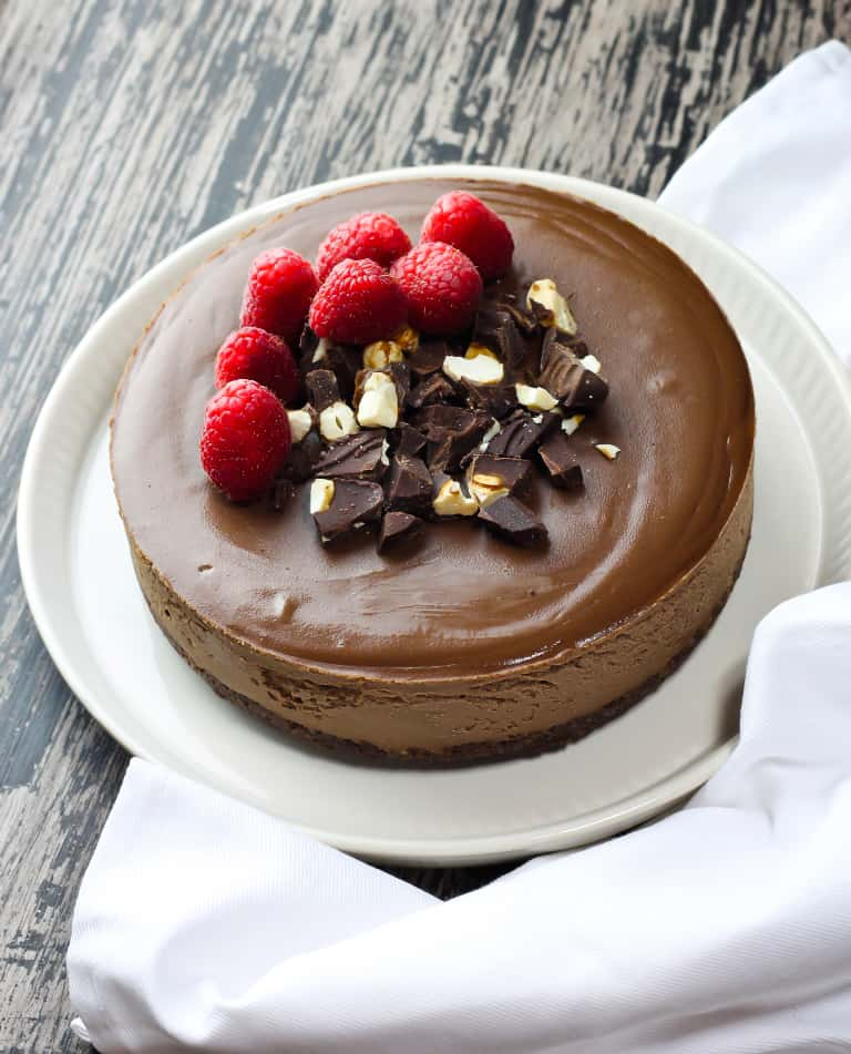 Vegan Chocolate Recipes - Vegan Chocolate Cheesecake