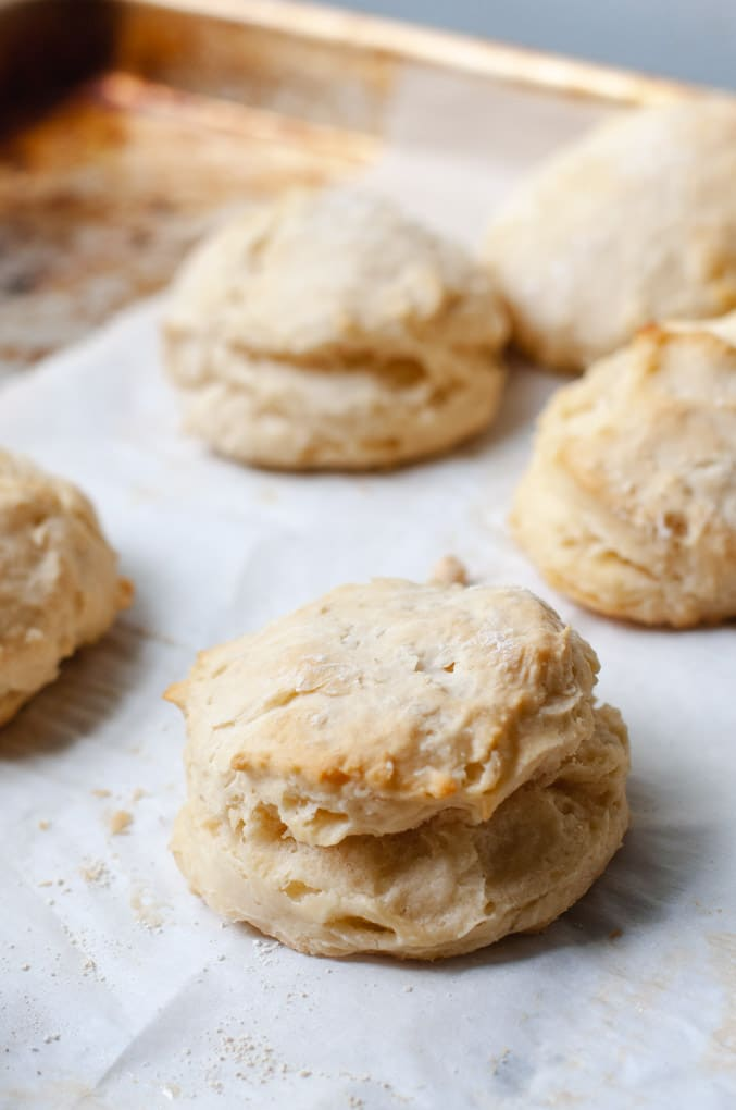 Southern Style Vegan Biscuits