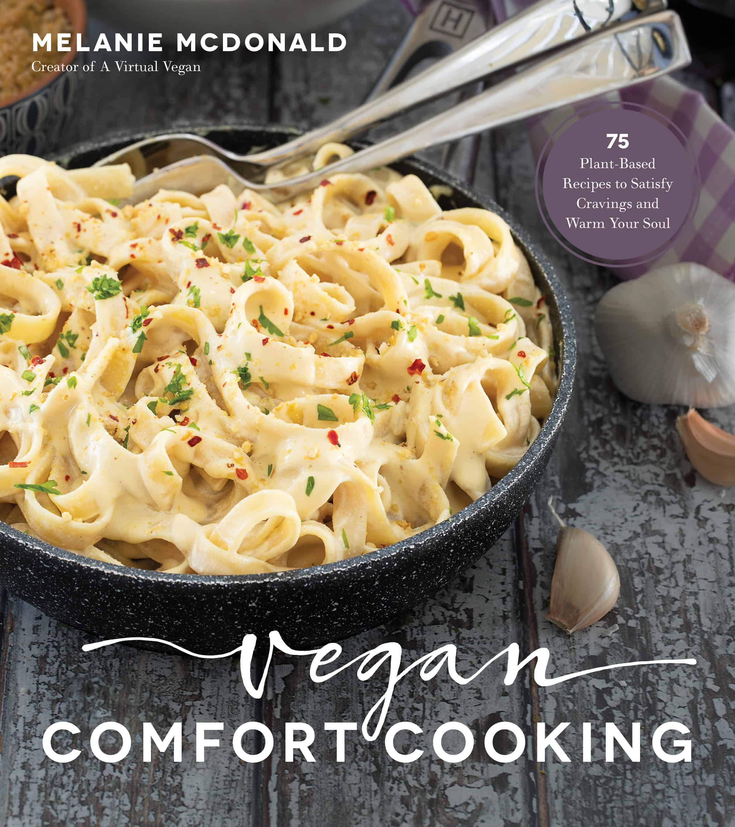 Vegan Comfort Cooking Cookbook Cover