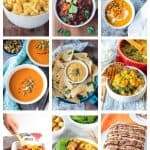 9 photo collage of a variety of butternut squash recipes.