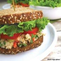 Tahini Chickpea Salad