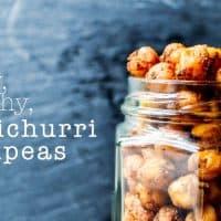 Crispy Chimichurri Roasted Chickpeas