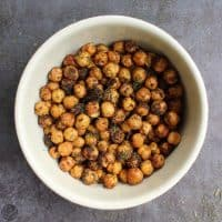Air Fryer Chickpeas with Ranch Seasoning
