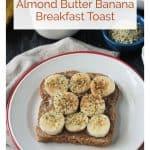 Breakfast Toast image for Pinterest