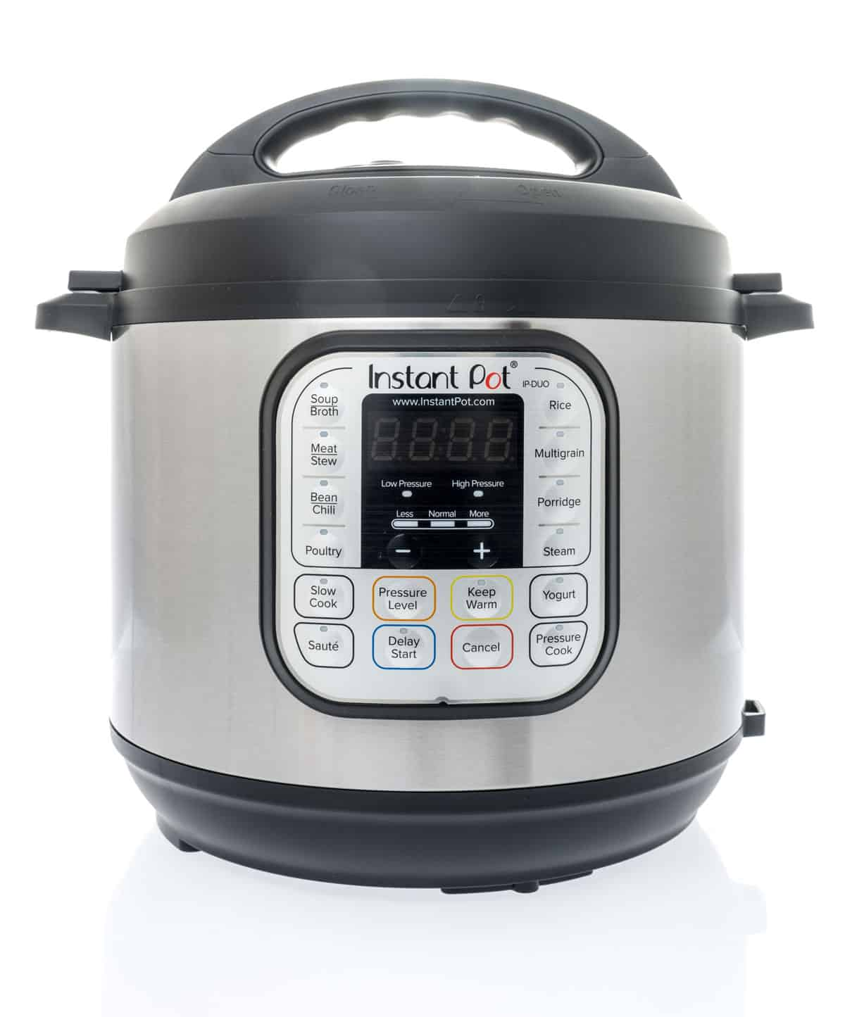 Instant Pot electric pressure cooker.