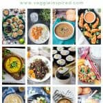 12 photo collage of healthy rice recipes with text overlay.